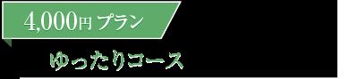4000円コース