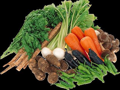 野菜は富山の農家から直接仕入れます。